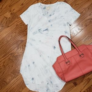 Anthropologie Cloth & Stone Justine High Low Dress